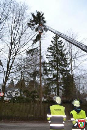 Feuerwehr Vaterstetten Sturm Einsatz