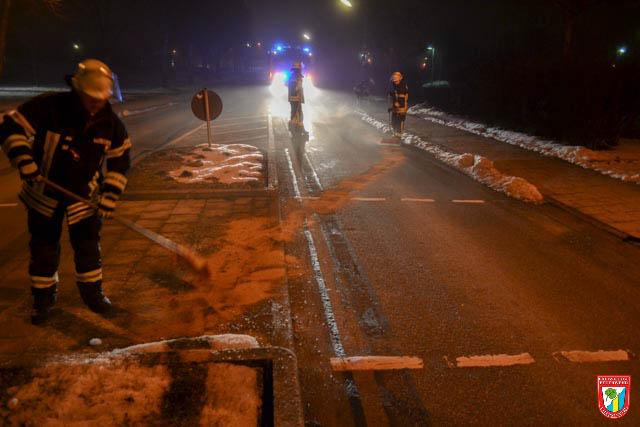 Feuerwehr Vaterstetten Ölspur Einsatz